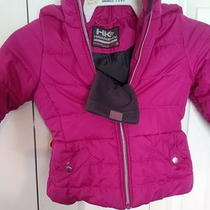 Girls puffer coat